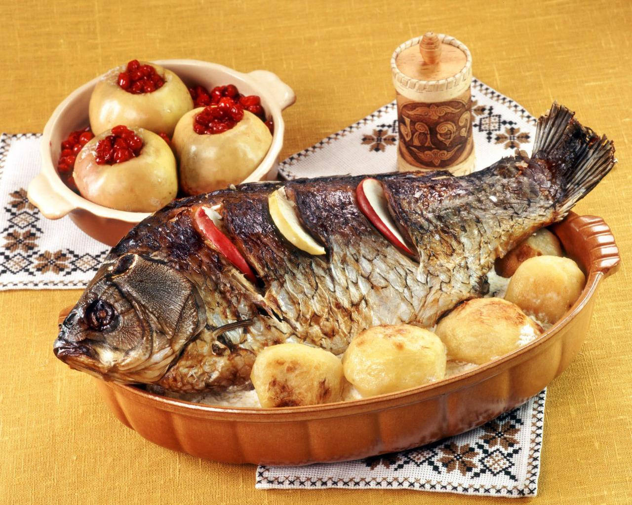 Что можно приготовить из рыбы? (4 рецепта)
